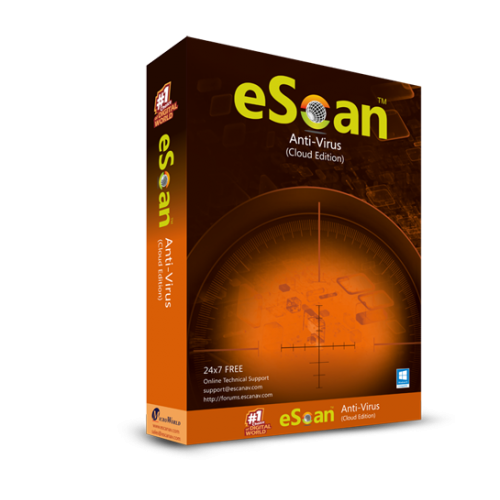 eScan Anti-Virus avec Cloud Security